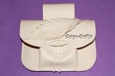 Makerist - Gürteltasche Foldy im Mittelalterstil aus Kunstleder - 1