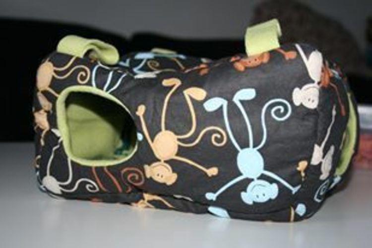 Makerist - Kuschelhaus für Kleintiere - Nähprojekte - 1