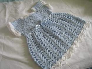 Makerist - robe et son gilet au crochet  - 1