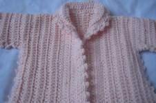 Makerist - gilet au crochet - 1