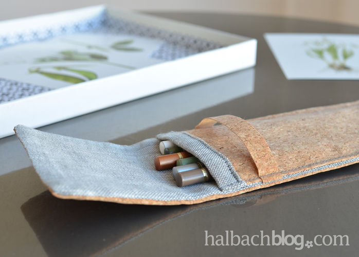 Makerist - ♥ Korkstoff: Stifte-Tasche ♥ - Nähprojekte - 3