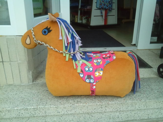Nähanleitung und Schnittmuster Reittier Pferd