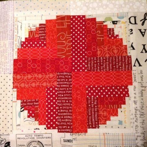 Makerist - Rote Bubble ... - Patchwork-Projekte - 1