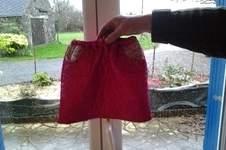 Makerist - ensemble fillette jupe et blouson type perfecto tissus matelasse et tissus liberty pour Emma - 1