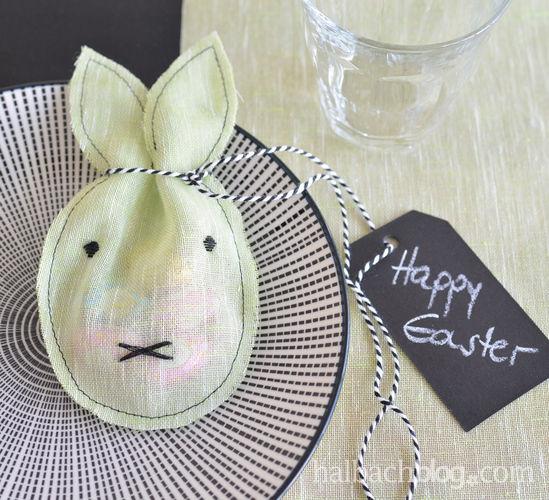 Makerist - Ostergeschenk: Hasen-Stoff-Säckchen - Nähprojekte - 1