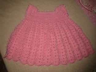 Makerist - robe  rose au crochet - 1