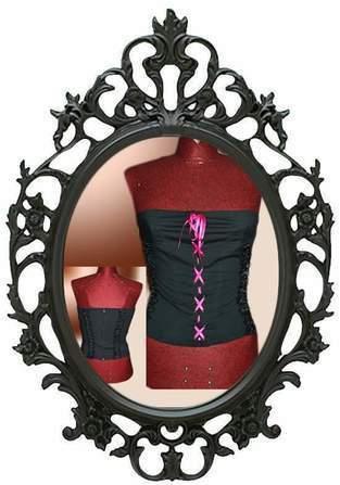 Makerist - Bustier noir et rose - 1