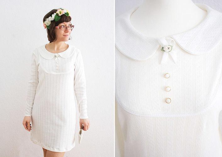 Makerist - Brautkleid aus Ajour-Jersey - Nähprojekte - 1