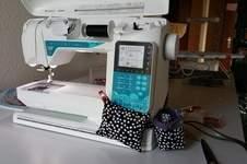 Makerist - Nadelkissen und Minimüllerimer für die Nähmaschine  - 1