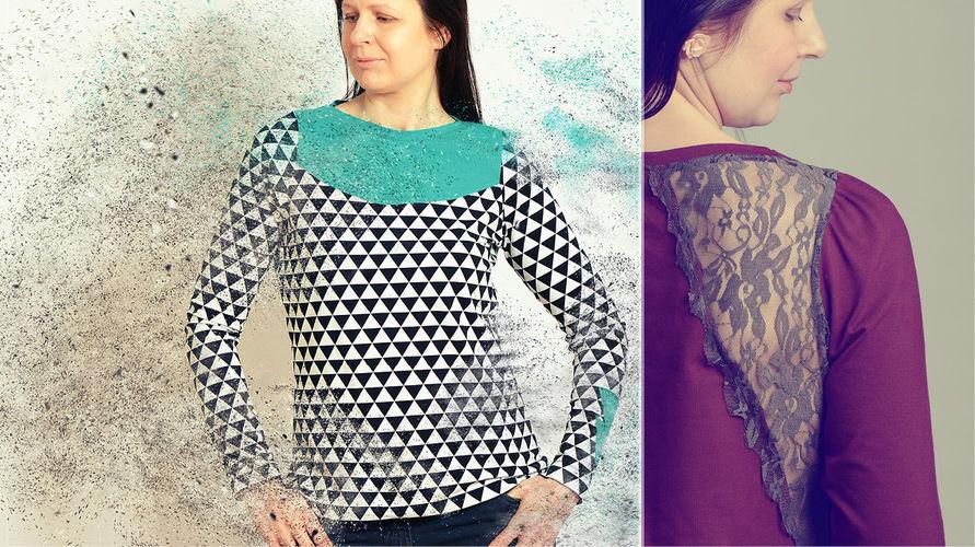Makerist - Shirt / Kleid TAIPA von tragmal - Nähprojekte - 1