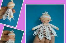 Makerist - Amigurumi Mini Engel Schnuffeltuch 10 cm Groß - 1