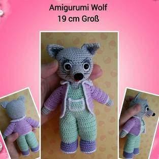Makerist - Amigurumi Wolf - 1