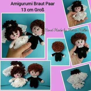 Makerist - Amigurumi Brautpaar Mini - 1