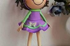 Makerist - Moosgummi Puppe - 1
