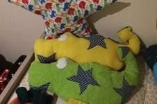 Makerist - Selbstgenähte Kissen und schmusis für meinen Räuber  - 1