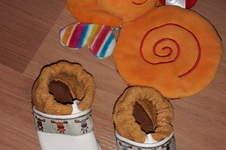 Makerist - Krabbelpuschen aus Leder für meine kleine Tochter - 1