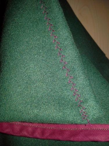 Makerist - Meine erste Jacke - Ira von Erbsünde aus Bekleidungsfilz. - Nähprojekte - 2