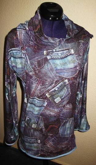 Makerist - Shirt in Jeansoptik für mich - 1