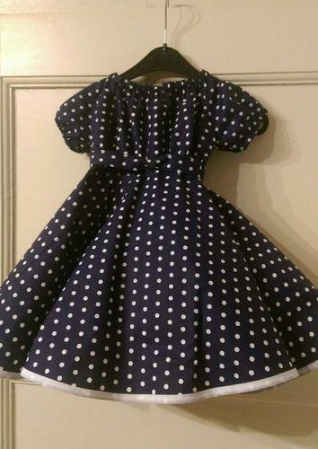 Makerist - Petticoatkleid, Baumwollstoff. Für meine Enkeltochter - Nähprojekte - 1