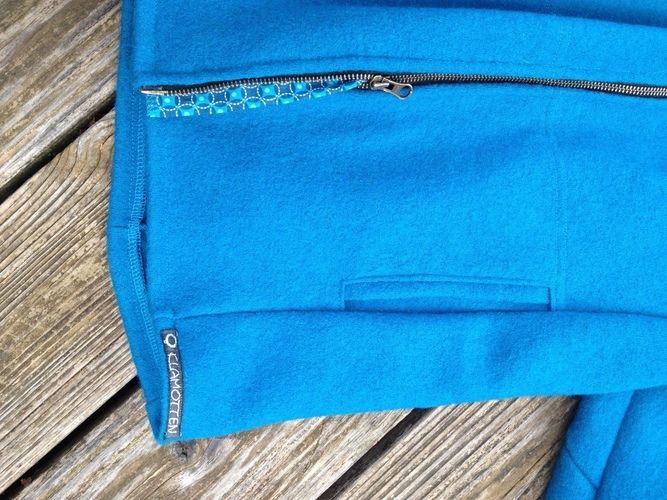 Makerist - kapuzenjacke aus walkloden - Nähprojekte - 3
