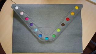 Makerist - Laptoptasche aus Filz für die Freundin meines Sohnes - 1