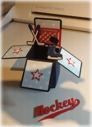 Makerist - Box für einen Hockeyfan - 1