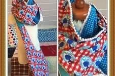 Makerist - ☀️ Tasche für den Sommer mit passenden Loop. 🍒☀️ - 1