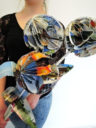 Makerist - RiesenPapierBlumenstrauß - DIY-Projekte - 1