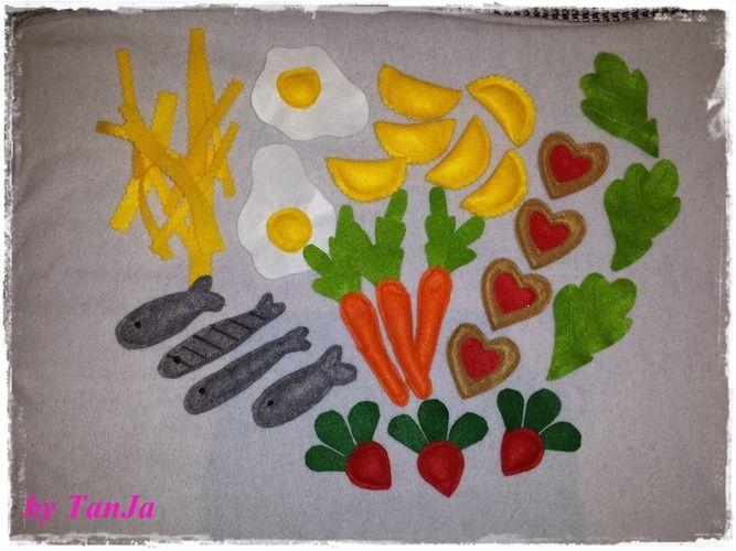 Lebensmittel Für Die Kinderküche Von Tanja T Nähprojekte