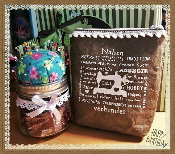 Makerist - Geburtstagsgeschenk für eine Nähfee  - DIY-Projekte - 1