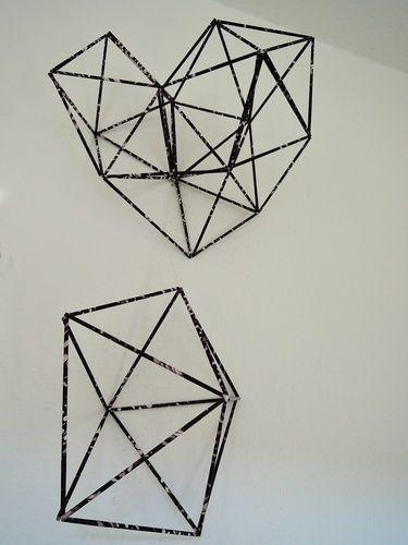 Makerist - GEOMETRISCHES__WandDeko aus Papier - DIY-Projekte - 2