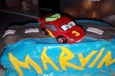 Makerist - Cars Motiv Torte - 1