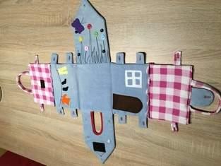 Makerist - Puppenhaus aus alten Jeans  - 1