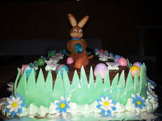 Makerist - Ostertorte - Torten, Cake Pops und Cupcakes - 1