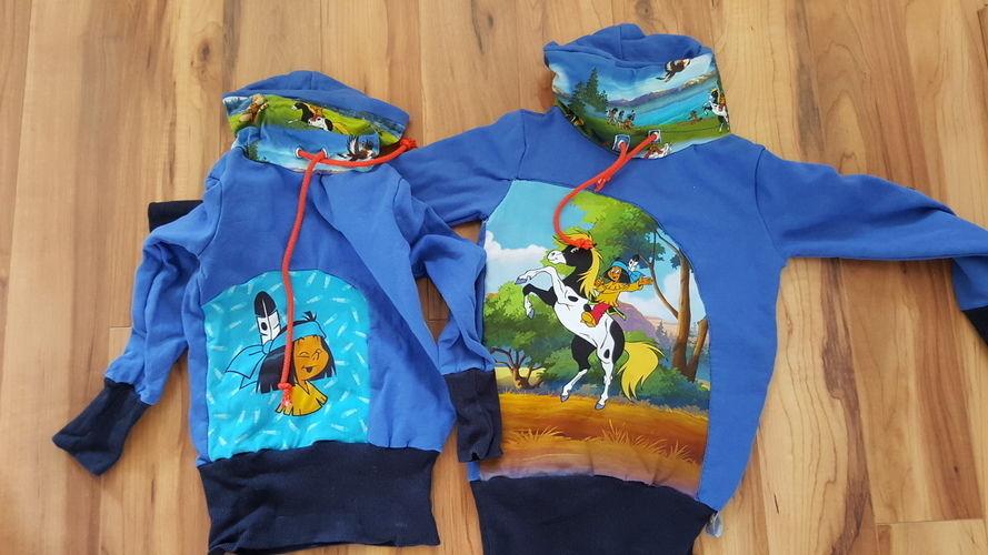 Makerist - Yakari-Jungen-Pullover super weich und Einzigartig - Nähprojekte - 1