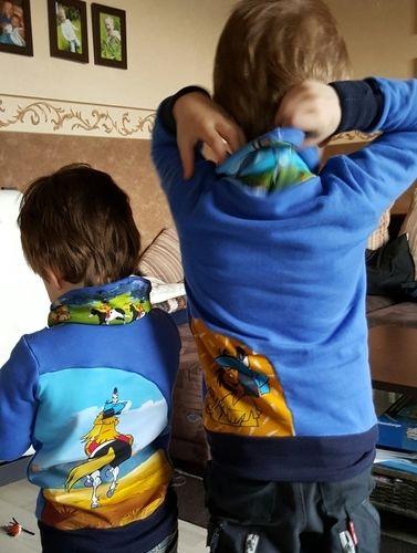 Makerist - Yakari-Jungen-Pullover super weich und Einzigartig - Nähprojekte - 3