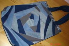 Makerist - Patchworktasche aus Jeansresten  - 1