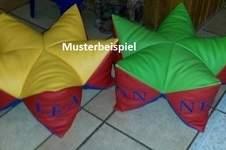 Makerist - Sternenkissen aus Kunstleder als Sitzkissen  - 1