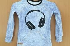 Makerist - Selbstgenähtes Longsleeve mit selbstgeplotterten Kopfhörern - 1