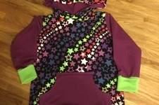 Makerist - Für eine kleine Prinzessin, deren Lieblingsfarbe Gün lila und Sterne sind!😍 - 1