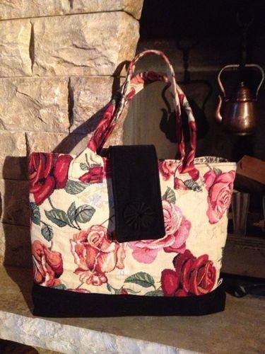 Makerist - Tasche - Rote Rosen -  - Nähprojekte - 1