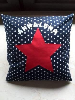 "Makerist - Kissen ""Stars"" - 1"