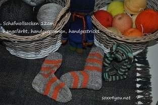 Makerist - schafwollsocken - 1