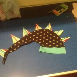 Makerist - Eine coole drachenmütze für meinen kleinen meckerdrachen - 1