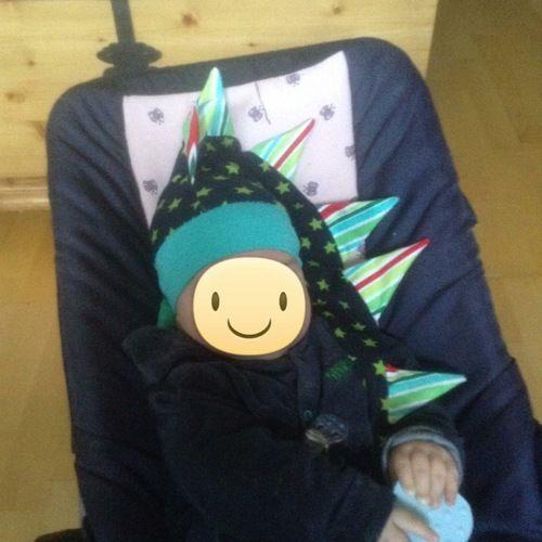 Makerist - Eine coole drachenmütze für meinen kleinen meckerdrachen - Nähprojekte - 2