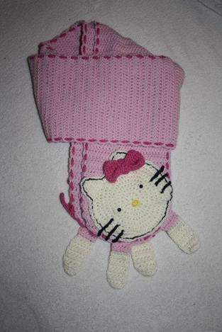Makerist - Hello Kitty Schal - 1