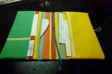 Makerist - U-Hefthülle & Pamperstasche aus Baumwollstoff für meinen Enkel - 1