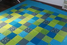 Makerist - Patchworkdecke fürs Bett - 1
