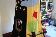 Makerist - Spielzelt aus Stoff für meine Kinder  - 1