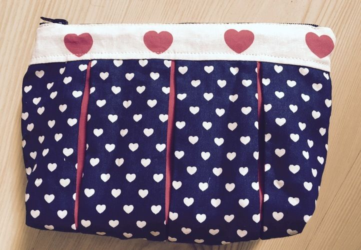 Makerist - Herzchentasche für KrimsKrams - Nähprojekte - 1